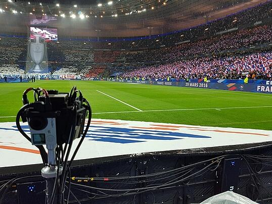 World's First Live Streaming of Sports Event in 360°