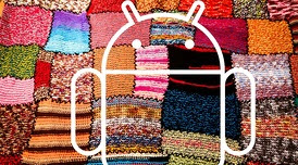 Android fragmentation crop