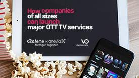 Ateme and VO OTT TV services
