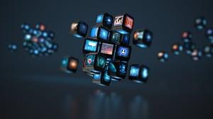 multiscreen tv illustration