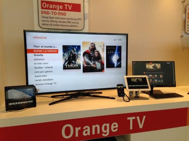 TV Everywhere Solution Powering Orange Spain Multiscreen Service