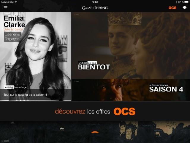 DEEP Powering OCS' Game of Thrones App