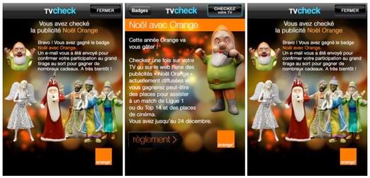 Orange Campaign on TVcheck