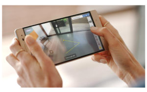 Augmented Reality Technology in action with the Lenovo Phab 2 Pro