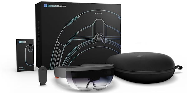 Augmented Reality Technology illustrated by Microsoft HoloLens