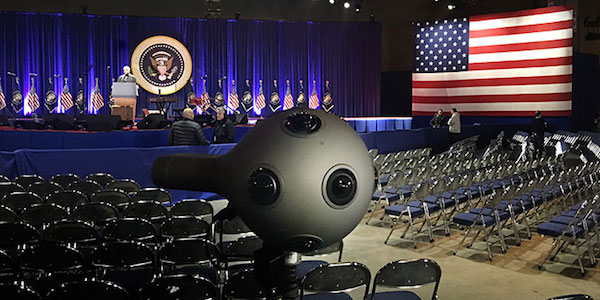 VR Streaming - Ozo at Obama