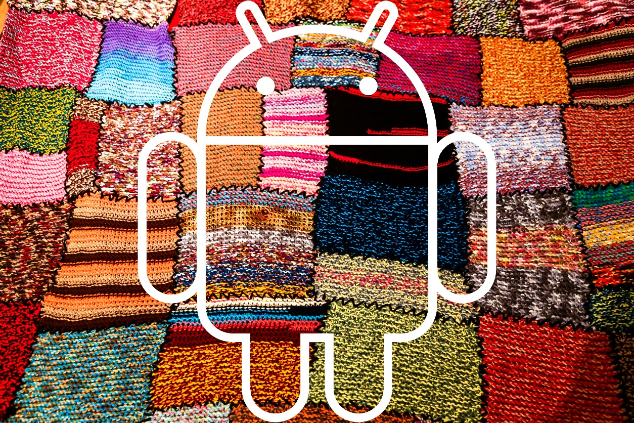 android fragmentation patchwork