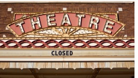 vintage-theater-marquee-picture-id157402423