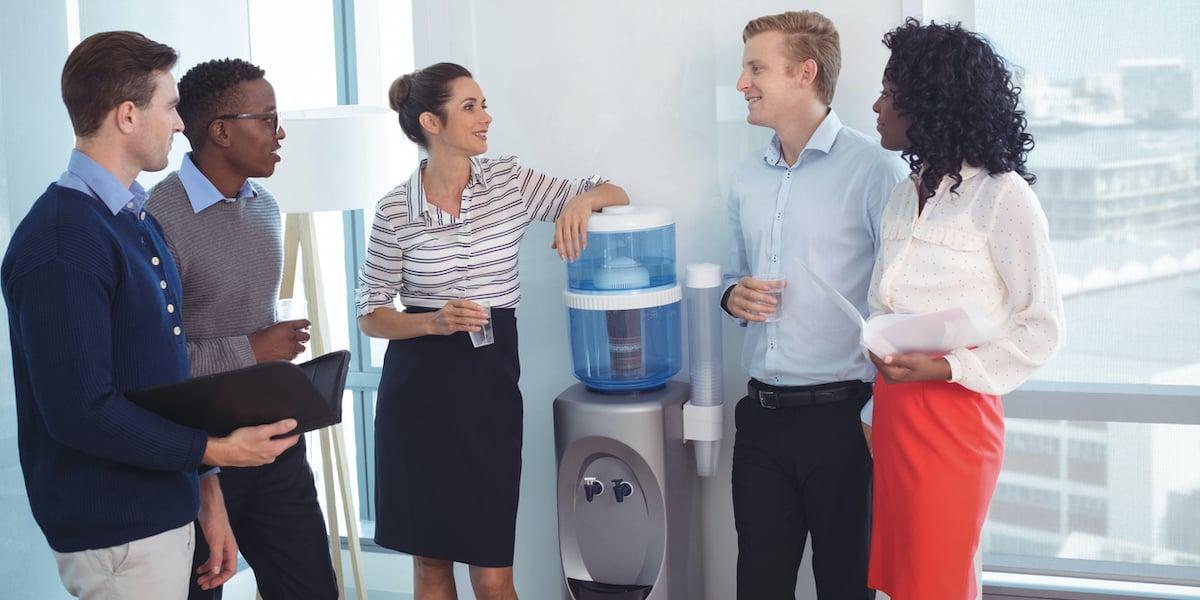 water cooler tv