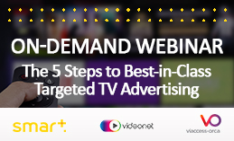 The 5 Steps to Best-in-Class Targeted TV Advertising